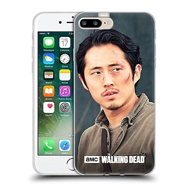 Official Amc The Walking Dead Glenn Rhee Looking Sideways Soft Gel Case For Apple Iphone 7 Plus