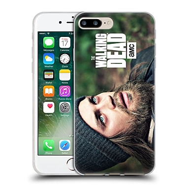 Official Amc The Walking Dead Jesus Looking Up Soft Gel Case For Apple Iphone 7 Plus