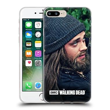 Official Amc The Walking Dead Jesus Profile Soft Gel Case For Apple Iphone 7 Plus