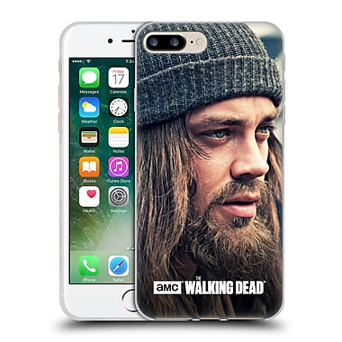Official Amc The Walking Dead Jesus Staring Into Distance Soft Gel Case For Apple Iphone 7 Plus