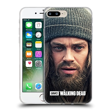 Official Amc The Walking Dead Jesus Thinking Soft Gel Case For Apple Iphone 7 Plus