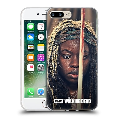 Official Amc The Walking Dead Michonne Bloody Sword Soft Gel Case For Apple Iphone 7 Plus