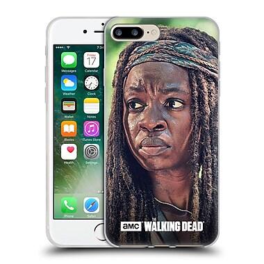 Official Amc The Walking Dead Michonne Face Soft Gel Case For Apple Iphone 7 Plus
