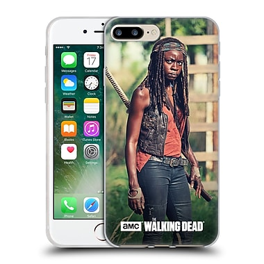 Official Amc The Walking Dead Michonne Stare Soft Gel Case For Apple Iphone 7 Plus