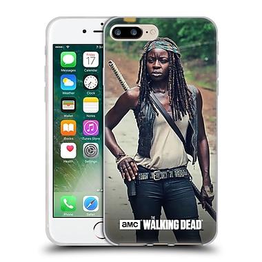 Official Amc The Walking Dead Michonne Stance Soft Gel Case For Apple Iphone 7 Plus