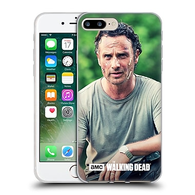 Official Amc The Walking Dead Rick Grimes Half Body Soft Gel Case For Apple Iphone 7 Plus