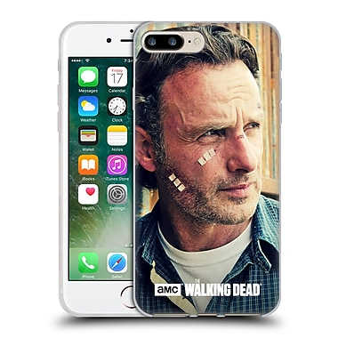 Official Amc The Walking Dead Rick Grimes Cuts And Bandages Soft Gel Case For Apple Iphone 7 Plus