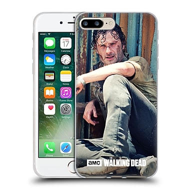 Official Amc The Walking Dead Rick Grimes On The Ground Soft Gel Case For Apple Iphone 7 Plus