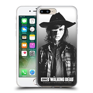 Official Amc The Walking Dead Filtered Portraits Carl Soft Gel Case For Apple Iphone 7 Plus