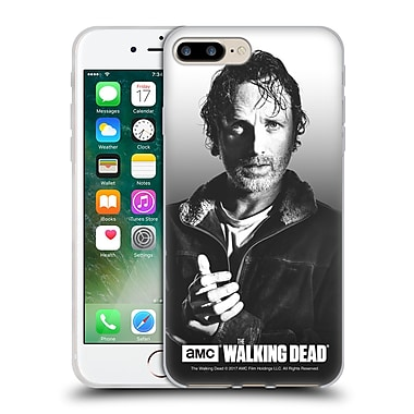 Official Amc The Walking Dead Filtered Portraits Rick Soft Gel Case For Apple Iphone 7 Plus