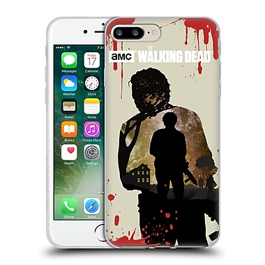 Official Amc The Walking Dead Silhouettes Glenn Soft Gel Case For Apple Iphone 7 Plus