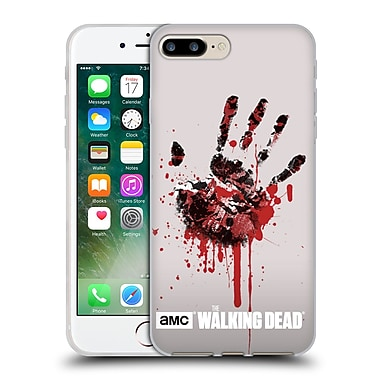 Official Amc The Walking Dead Silhouettes Hand Soft Gel Case For Apple Iphone 7 Plus