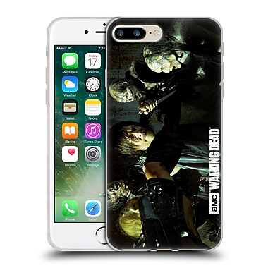 Official Amc The Walking Dead Walker Character Daryl Gun Soft Gel Case For Apple Iphone 7 Plus