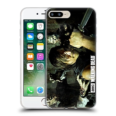 Official Amc The Walking Dead Walker Character Daryl Knife Soft Gel Case For Apple Iphone 7 Plus