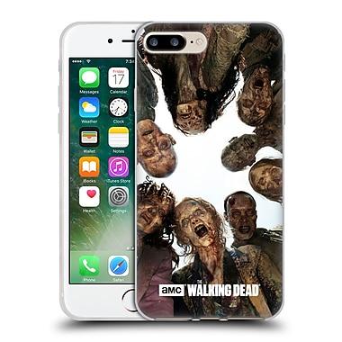 Official Amc The Walking Dead Walker Character Walker Group Soft Gel Case For Apple Iphone 7 Plus