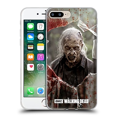Official Amc The Walking Dead Walkers Angry Soft Gel Case For Apple Iphone 7 Plus