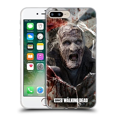 Official Amc The Walking Dead Walkers Hungry Soft Gel Case For Apple Iphone 7 Plus