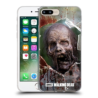 Official Amc The Walking Dead Walkers Jaw Soft Gel Case For Apple Iphone 7 Plus