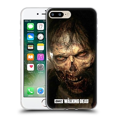 Official Amc The Walking Dead Walkers Stare Soft Gel Case For Apple Iphone 7 Plus