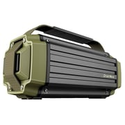 Dreamwave TREMOR Army Green/Black Aluminum Wireless 50W Rugged Outdoor Bluetooth Speaker