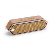Dreamwave – Haut-parleur Bluetooth haut de gamme HARMONY sans fil, aluminium brossé/cuivre/chameau