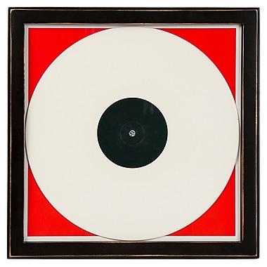 Crosley AC1006A-BK Wood Vinyl Record Frame, Black