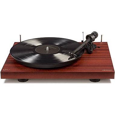 Crosley Hardwood Turntables with Low Vibration Synchronous Motor