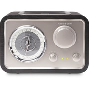 Crosley - Radio de table AM/FM Solo CR3003A-BK, noir
