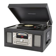 Crosley CR6001A-BK Archiver Turntable with Software for Ripping & Editing Audio, Black
