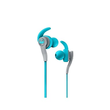 Monster iSport Compete In-Ear Headphones, Blue