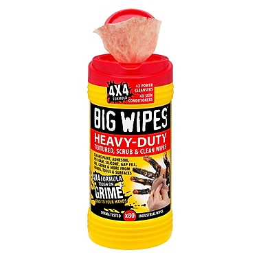 Big Wipes Heavy-duty, 4x4 Formula (BW0046CA)
