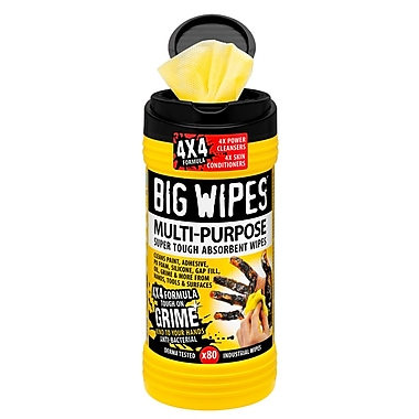 Big Wipes Multi-purpose, 4x4 Formula (BW0048CA)