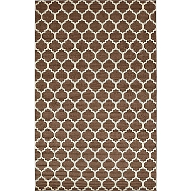 Alcott Hill Emjay Light Brown Area Rug; 10'6'' x 16'5''