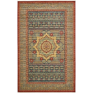 Astoria Grand Laurelwood Navy Blue Area Rug; 10'6'' x 16'5''