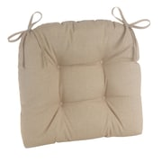 Klear Vu Indoor/Outdoor Patterned Extra Large Lounge Chair Cushion; Husk Birch