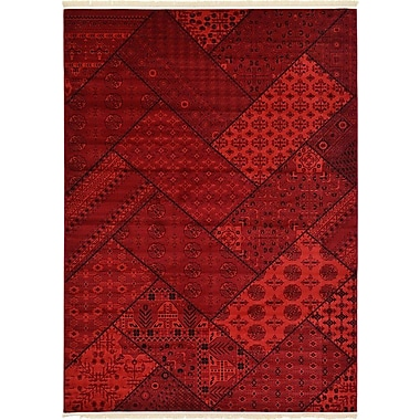 Bloomsbury Market Ivette Traditional Red Area Rug; 12' x 9'