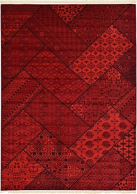Bloomsbury Market Ivette Traditional Red Area Rug; 4' x 6'