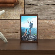 Loon Peak 2'' Distressed Wood Picture Frame; 5'' x 7''