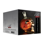 Brilliant Skull Glass Decanter 25 oz. Beverage Dispenser