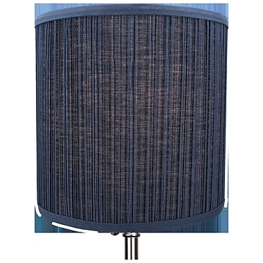 Fenchel Shades 10'' Linen Drum Lamp Shade; Navy