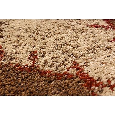 Union Rustic Maynard Shag Beige Area Rug; 5'3'' x 7'8''