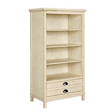 Stone & Leigh by Stanley Furniture Driftwood Park 58'' Standard Bookcase; Vanilla Oak