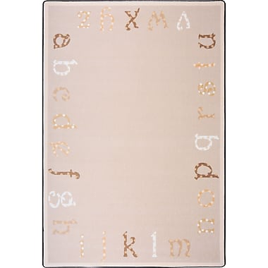 Joy Carpets Polka Dot ABC's, 3'10