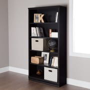 South Shore Morgan 5-Shelf Narrow Bookcase