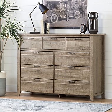 South Shore Lionel Sideboard, Weathered Oak (11018)