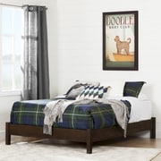 South Shore Summer Breeze 4-Piece Bedroom Set, White Wash