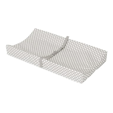 South Shore Somea Changing Pad, Gray and White (100081)