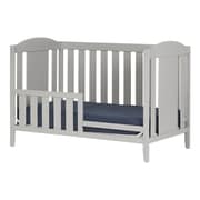 South Shore Cookie Crib and Toddler's Bed, Soft Gray (10719)