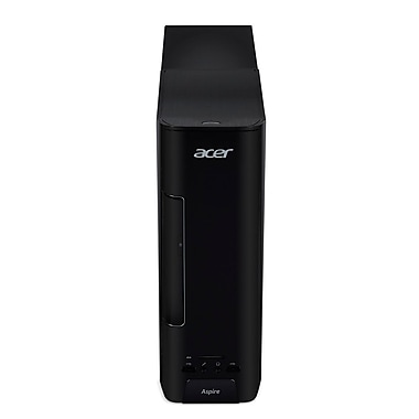 Acer Aspire AXC-780-ES11 Desktop Computer, 3.9 GHz Intel Core i3-7100, 1 TB HDD, 8 GB RAM, Windows 10