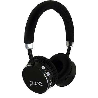 Puro Sound Labs - Casque d'écoute sans fil BT2200 pour enfants (22SCC), noir